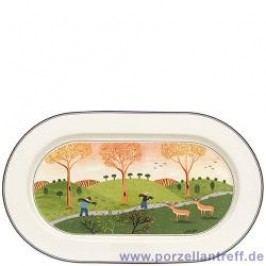 Villeroy & Boch Design Naif Oval Platter 34 cm