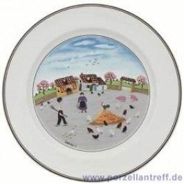 Villeroy & Boch Design Naif Dinner Plate Chicken Farm 27 cm