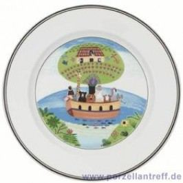 Villeroy & Boch Design Naif Breakfast Plate Noah S Ark 21 cm