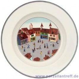 Villeroy & Boch Design Naif Soup Plate Village 21 cm