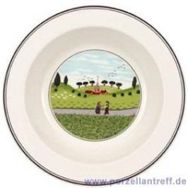 Villeroy & Boch Design Naif Salad Bowl Encounter 20 cm