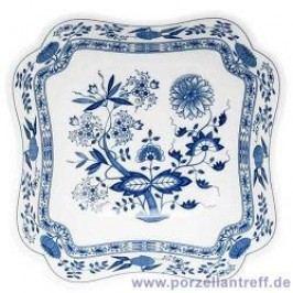 Hutschenreuther Blue Onion Pattern Bowl Square 20 cm
