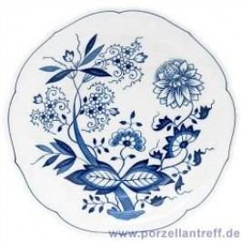 Hutschenreuther Blue Onion Pattern Coffee Saucer with Indentation for a Cup, 14 cm