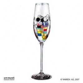 Königlich Tettau Hundertwasser Champagne Glasses Champagne Glass