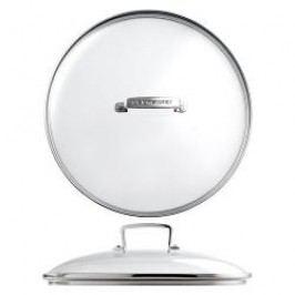 Le Creuset Aluminium Non-Stick Frying Pans Glass Lid for Aluminum Pan 28 cm