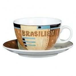 Seltmann Weiden VIP- Collection Brazil Café Au Lait Cup & Saucer, 2 pcs set, 0.37 l/16 cm