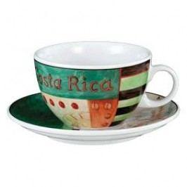 Seltmann Weiden VIP- Collection Costa Rica Café Au Lait Cup & Saucer, 2 pcs set, 0.37 l/16 cm