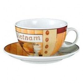 Seltmann Weiden VIP- Collection Vietnam Café Au Lait Cup & Saucer, 2 pcs set, 0.37 l/16 cm