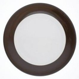 Kahla Pronto Colore Chocolate Brown Dinner Plate 26 cm