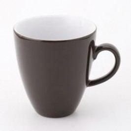 Kahla Pronto Colore Chocolate Brown Macchiato Cup 0.28 L