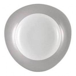 Seltmann Weiden Trio Stone Grey Pasta Plate 27 cm