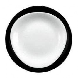 Seltmann Weiden Trio Black Breakfast Plate 23 cm