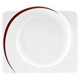 Seltmann Weiden Paso Bossa Nova Plate Square Flat 34 cm