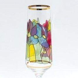 Königlich Tettau Tiffany Sparkling wine Goblets Champagne Goblet in Gift Box Lily
