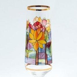 Königlich Tettau Tiffany Sparkling wine Goblets Champagne Goblet in Gift Box Water lily