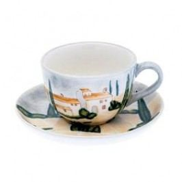 Magu-Cera Ceramics Siena Tea Cup with Saucer