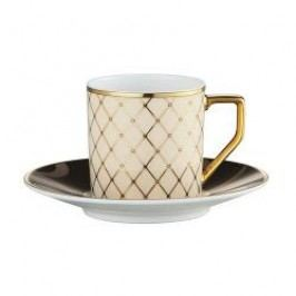 Rosenthal Classic Francis Sheherazade Espresso / Mocha Cup Saucer 11 cm