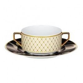 Rosenthal Classic Francis Sheherazade Soup Cup Saucer 18 cm