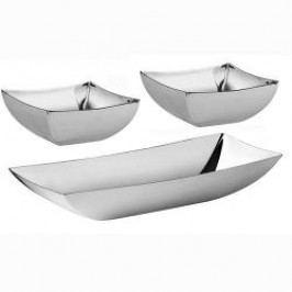 Sambonet Linea Q Set of Bowls 3 pcs