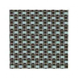 Sambonet Linea Q Placemats Placemat 1 pcs. Blue / Brown 42 x 33 cm