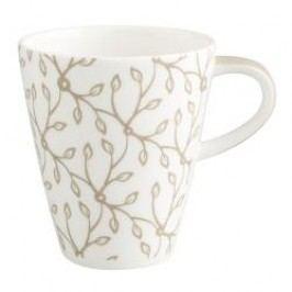Villeroy & Boch Caffe Club Floral Caramel Mug with Handle Small 0.20 L, height: approx. 8.5 cm