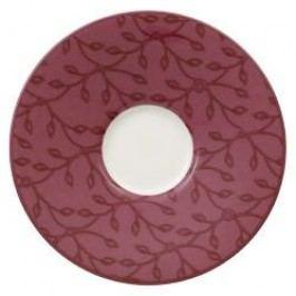 Villeroy & Boch Caffe Club Floral Berry Mocha / Espresso Saucer 12 cm