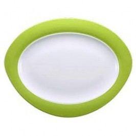 Seltmann Weiden Trio Apple Green Oval Platter 35 cm