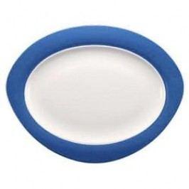 Seltmann Weiden Trio Blue Oval Platter 35 cm