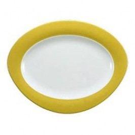 Seltmann Weiden Trio Lemons Yellow Oval Platter 31 cm