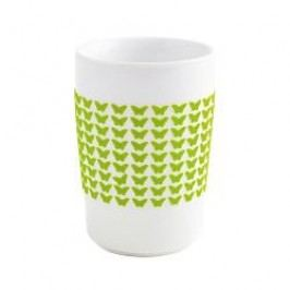 Kahla Five Senses touch Frühlingsmotive Maxi-cup 'Butterfly', colour: green apple, 0.35 L