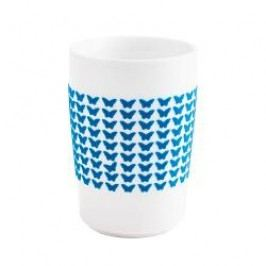 Kahla Five Senses touch Frühlingsmotive Maxi-cup 'Butterfly', colour: cyan, 0.35 L