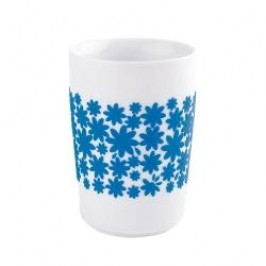 Kahla Five Senses touch Frühlingsmotive Maxi-cup 'Flower Power', colour: cyan, 0.35 L