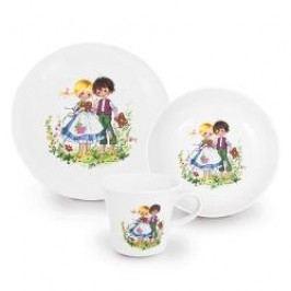 Kahla Kindergeschirr Children's Tableware set 'Hänsel und Gretel', 3 pcs
