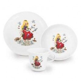 Kahla Kindergeschirr Children's Tableware set 'Aschenputtel', 3 pcs.