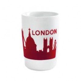Kahla Five Senses touch Skyline Mug large 'London', colour: red, 0.35 L