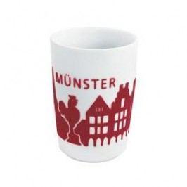 Kahla Five Senses touch Skyline Mug large 'Münster', colour: red, 0.35 L