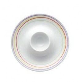 Thomas Sunny Day Stripe / Vertigo Flames Egg Cup Plate