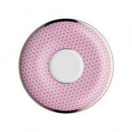 Arzberg Form 1382 Novum Pink Café-au-lait Saucer 15 cm