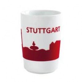 Kahla Five Senses touch Skyline Mug large 'Stuttgart', colour: red, 0.35 L