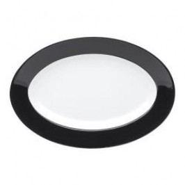 Kahla Pronto Colore black Platter oval 32 cm