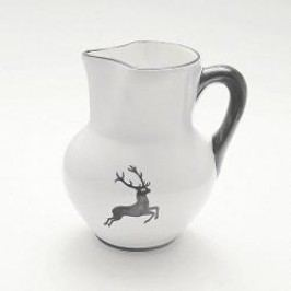 Gmundner Ceramics Grey Deer Vienna Jug 1 L