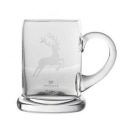 Gmundner Ceramics Deer Glasses by Eisch Beer Mug / Tankard 500 ml
