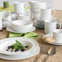 Friesland Jeverland white Combi tableware set 42 pcs