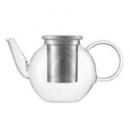 Jenaer Glas Concept Tea Teapot 'Good Mood' with lid and Stainless steel strainer large