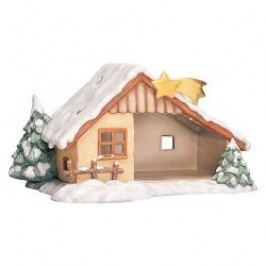 Goebel Nina & Marco Midi Nativity Display Stable 30x16 cm