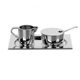 Robbe & Berking Cutlery Alta 925 Cream and Sugar Tray 925 Sterling Silver