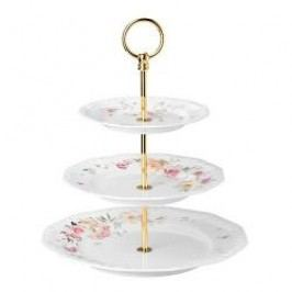 Rosenthal Selection Maria Pink Rose Serving Stand Plate 17-21-26 cm