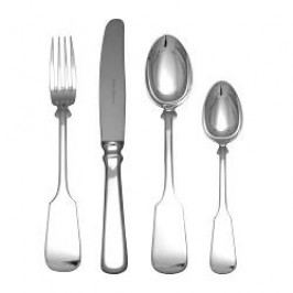 Robbe & Berking Cutlery Alt-Spaten 150 g Cutlery Dinner Set 4 pcs 150 grams solid silvered