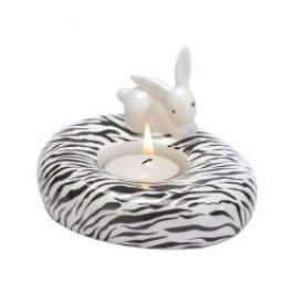 Goebel Animal Bunnies Tea Light