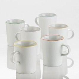 Arzberg Porzellan Cucina Colori Mug Set 6 pcs